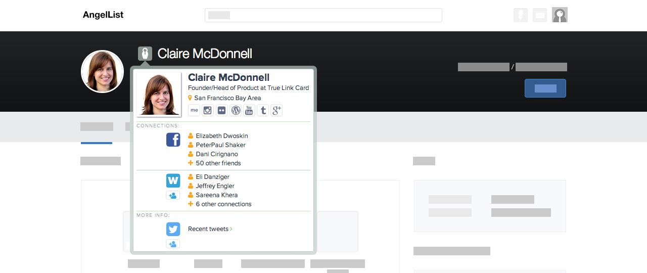 Chrome home screenshot angellist
