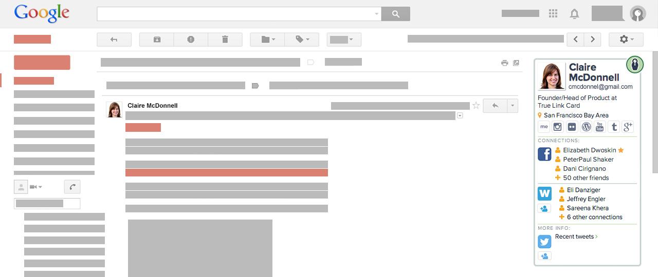 Chrome home screenshot gmail